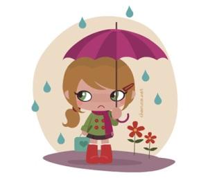 Je naime pas la pluie