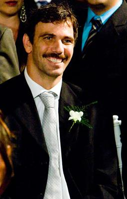 O padrinho Marcelo Faria