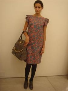 Amanda Paula, a outra modelo